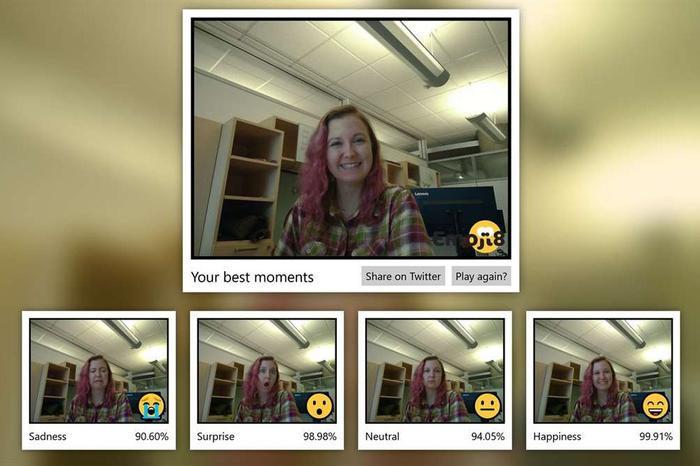 تشخیص احساسات با یادگیری ماشینی ویندوز