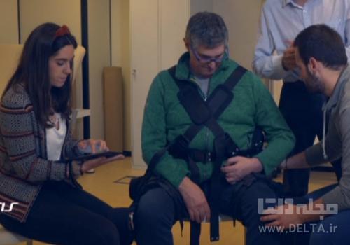 درمان سکته مغزی با ربات پوشیدنی