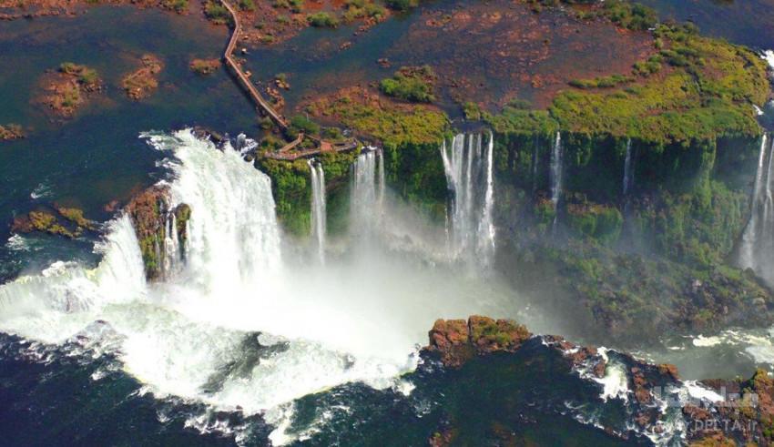 آبشار ایگواسو ؛ پدیده شگفت انگیز طبیعت