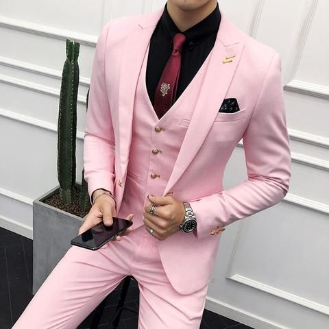 کت و شلوار رنگی مردانه