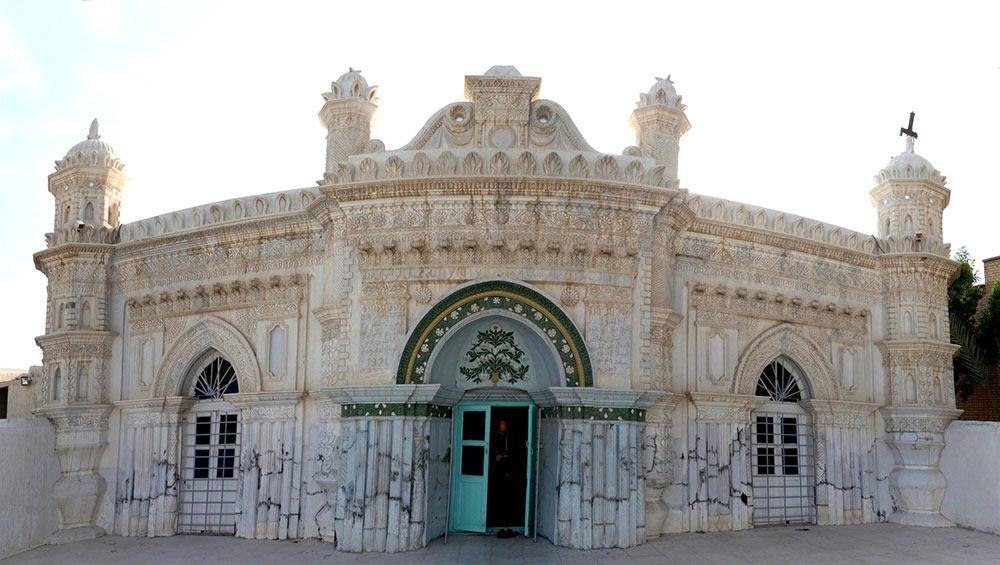 مسجد رنگونی ها در شهر آبادان