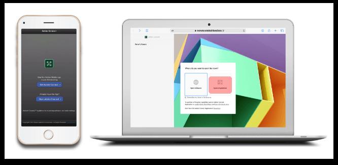 راهنمای گام به گام ورود به کلاس آنلاین در نرم افزار Adobe Connect