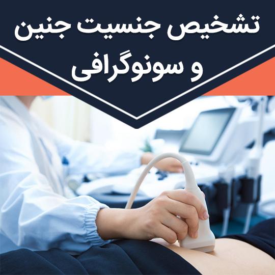 نحوه تشخیص جنسیت جنین از سونوگرافی