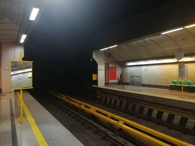 مترو انقلاب