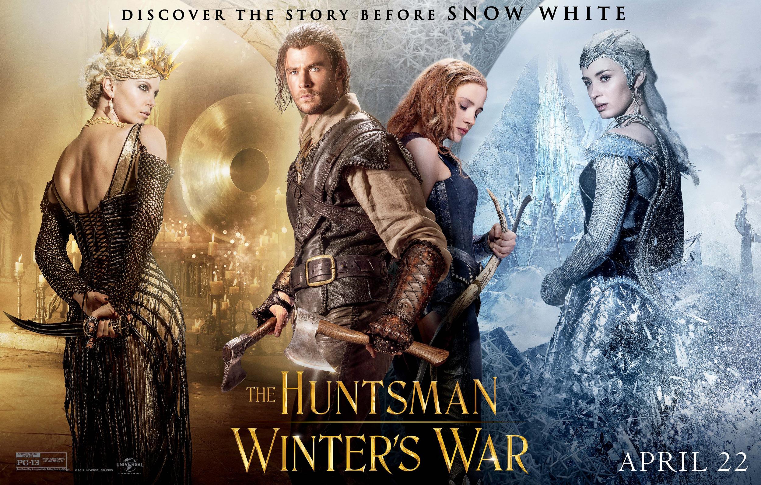 فیلم The Huntsman: Winter's War؛ از افتضاحات