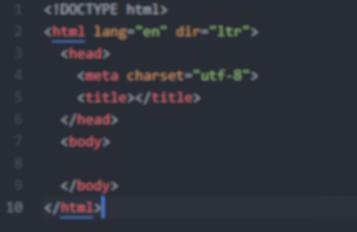 اموزش برنامه نویسی زبان HTML