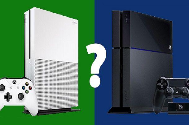 xbox  یا PS4 تقابل سخت
