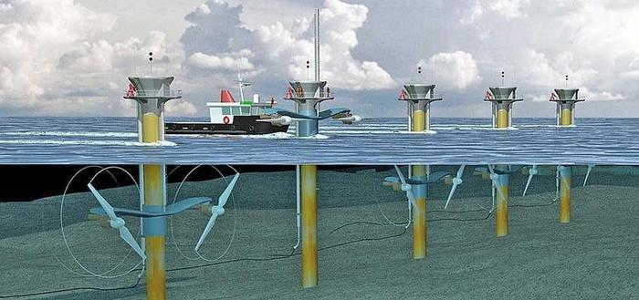 تولید برق با جزر و مد