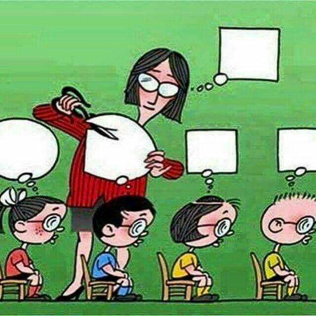 عکس شماره 1- بلایی که آموزش و پرورش کشورمان دچارش می باشند