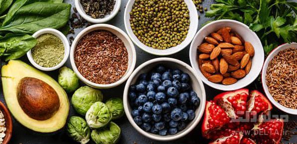 مواد غذایی ضد پیری