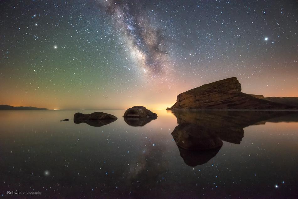 عکاسی از کهکشان راه شیری ، بخش دوم