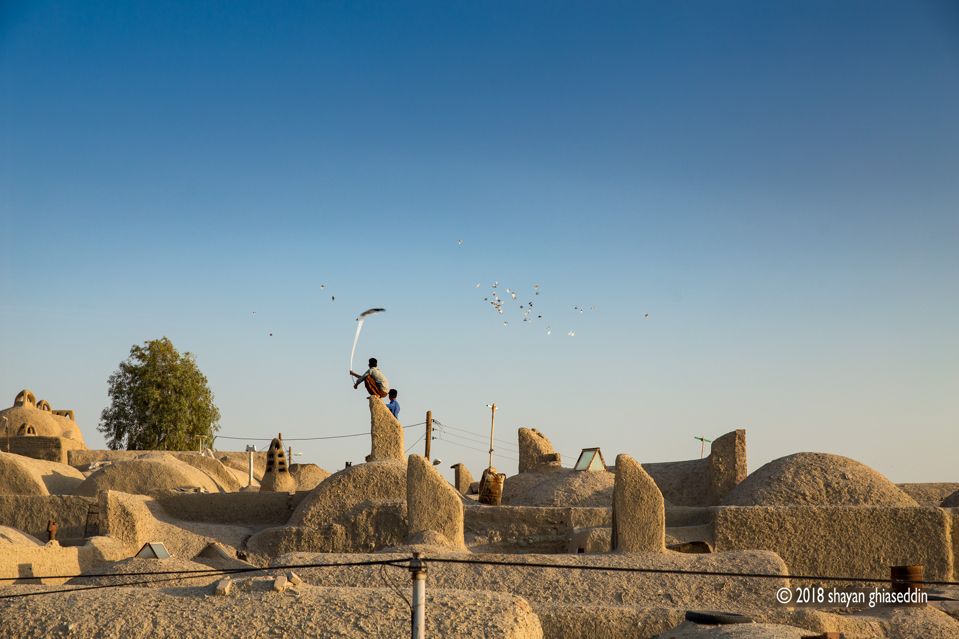 کفتربازِ روستای خور، خراسان جنوبی - آبان ۱۳۹۶