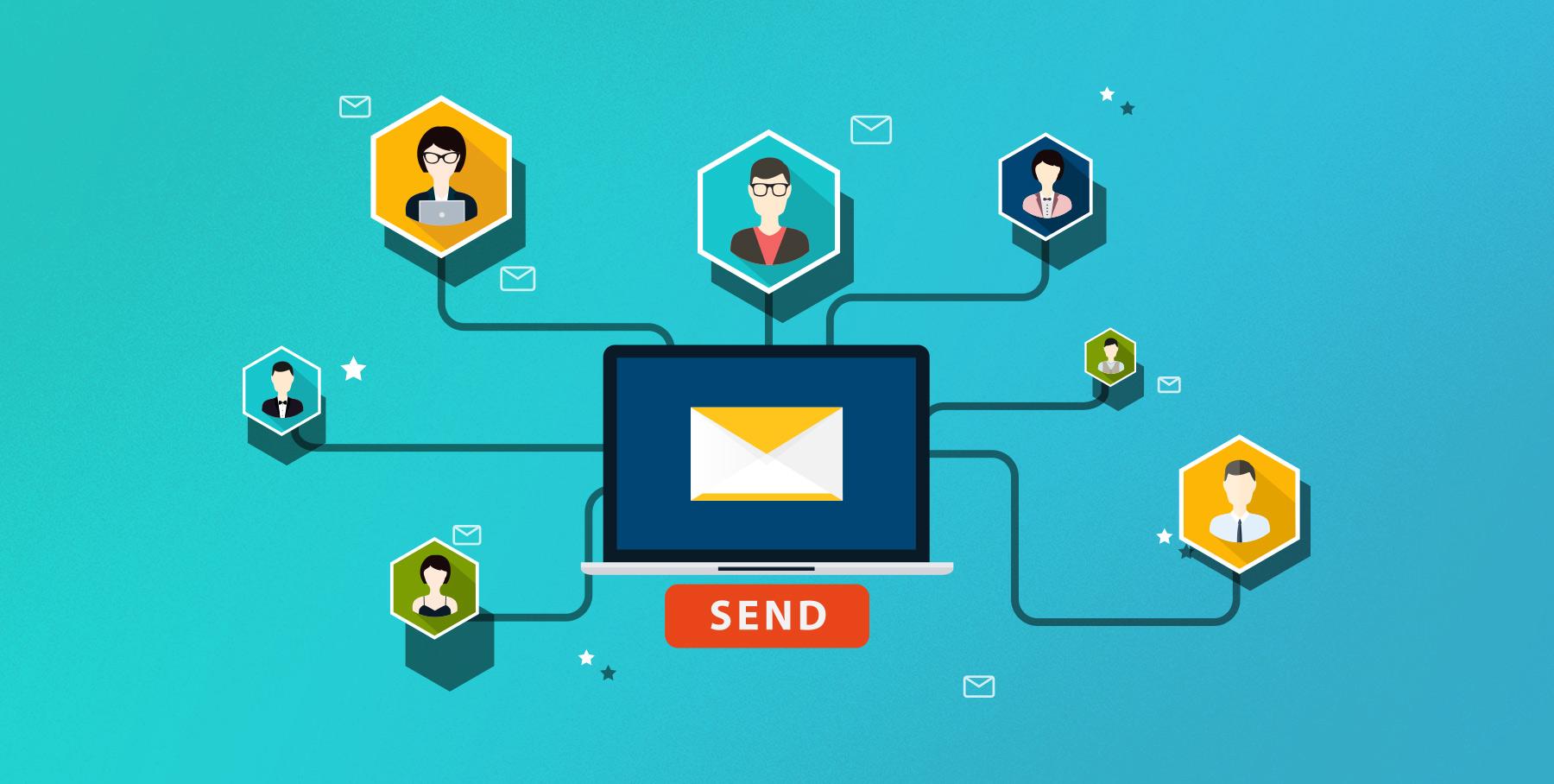 میزان بازگشایی ایمیل و تاثیر زمان بندی