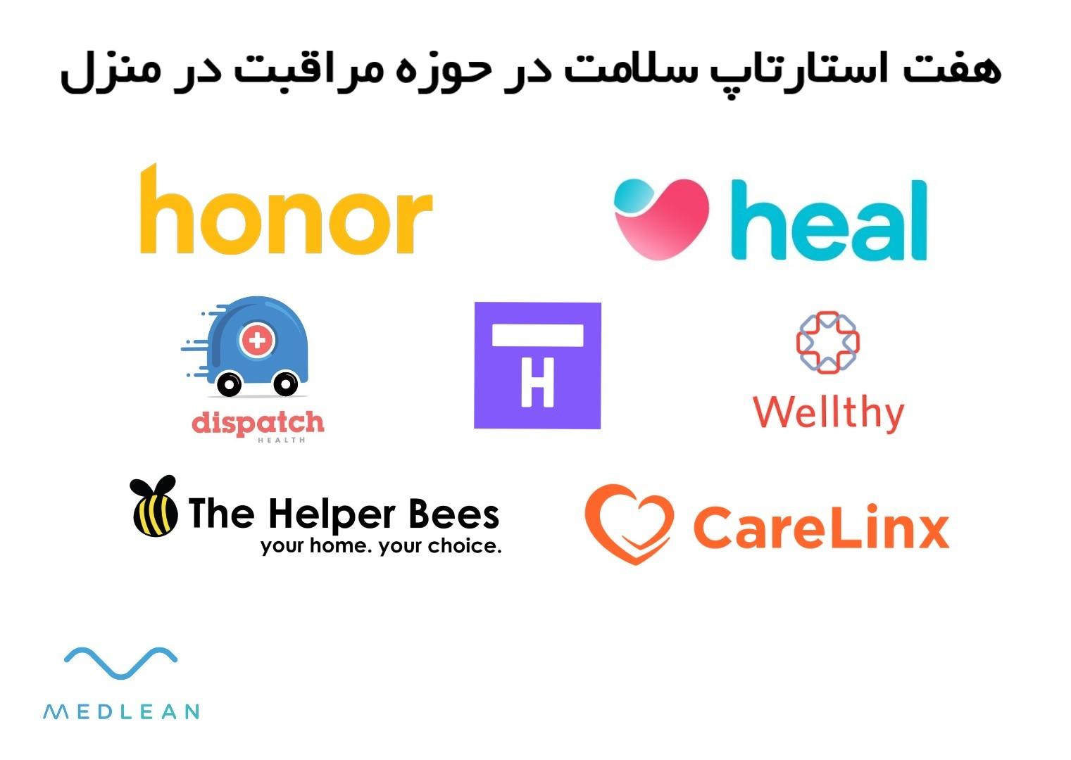 معرفی هفت استارتاپ سلامت در حوزه مراقبت در منزل