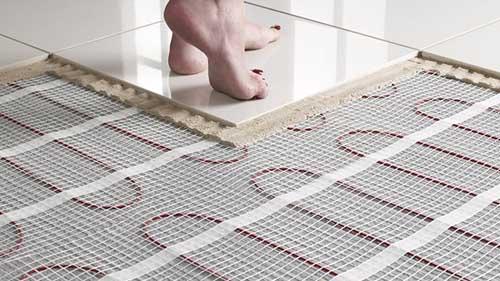 سیستم گرمایش از کف