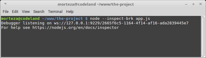 دیباگ کردن Node js بوسیله Chrome Developer Tools - Node js