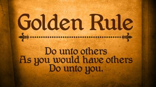 قاعده طلایی