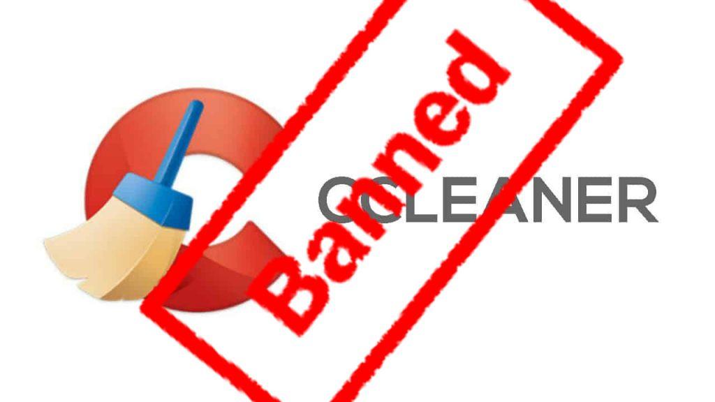 نرمافزار CCleaner در لیست سیاه مایکروسافت!