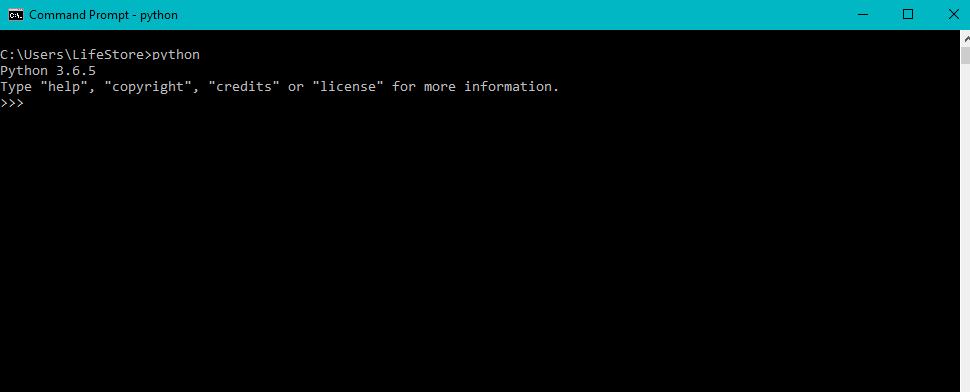 محیط نوشتن کد پایتون