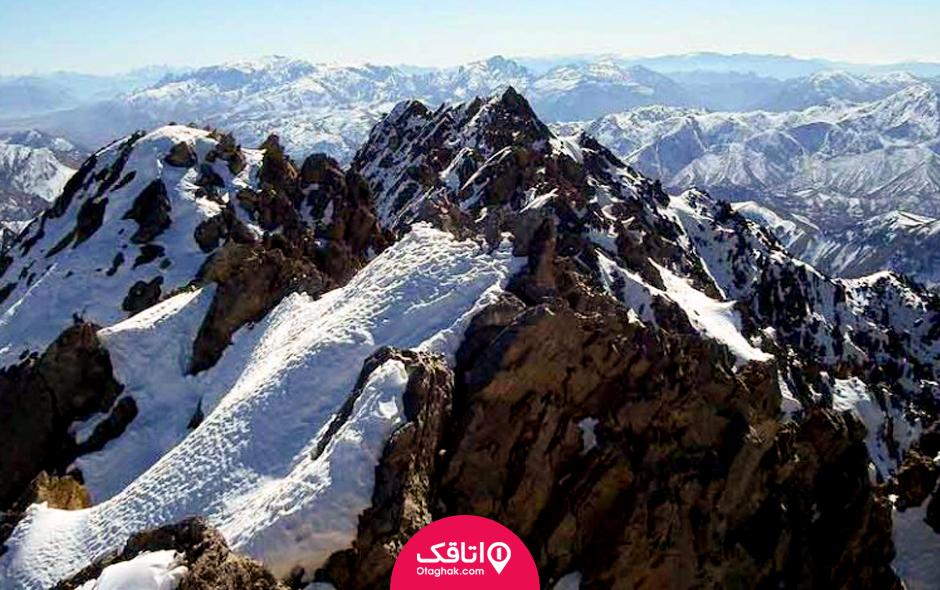 بلندترین کوههای ایران در کدام شهرهای قرار دارند؟