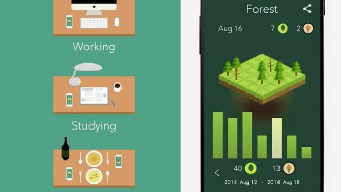 با دست نزدن به موبایلتان، جنگل بکارید!