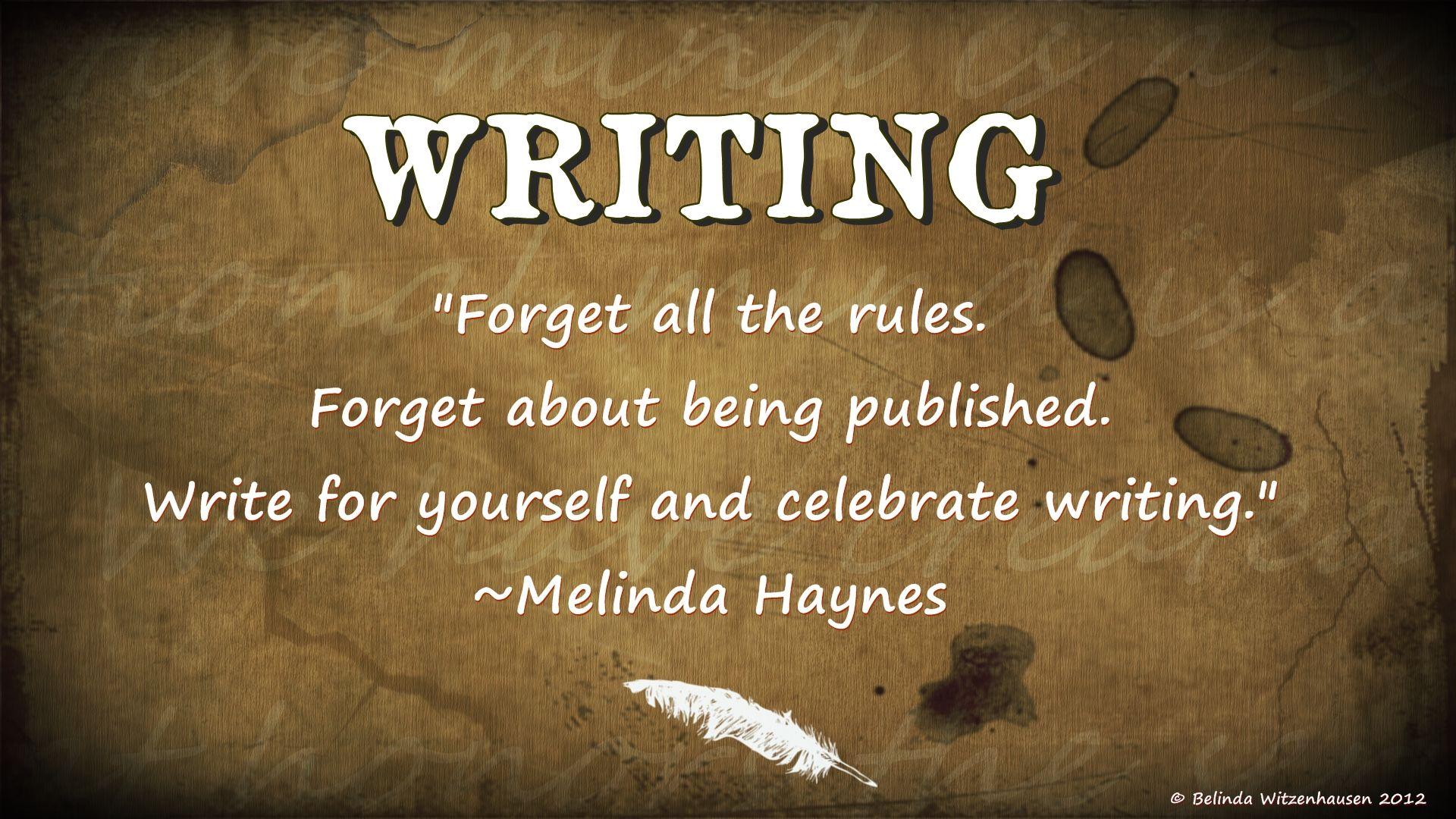 جملهای از ملیندا هینز