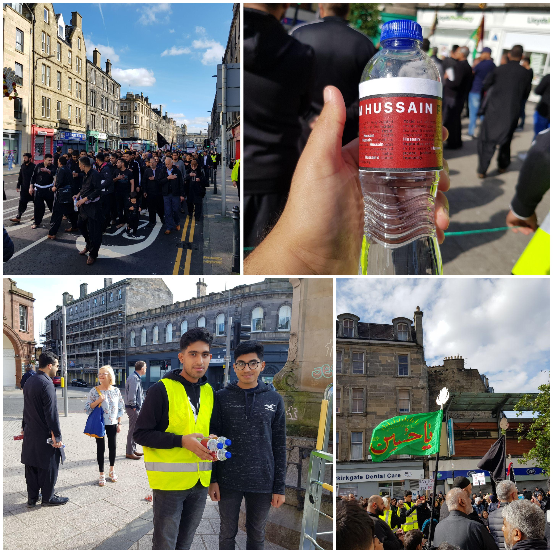 عاشورای پاکستانی-بریتانیاییها در اسکاتلند