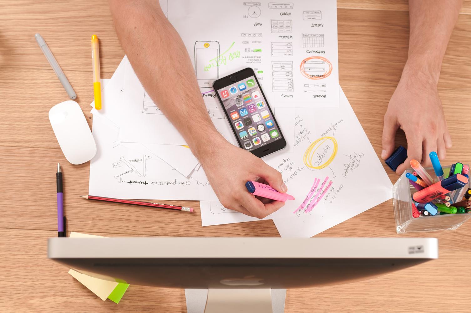 فرآیند طراحی تجربه کاربری