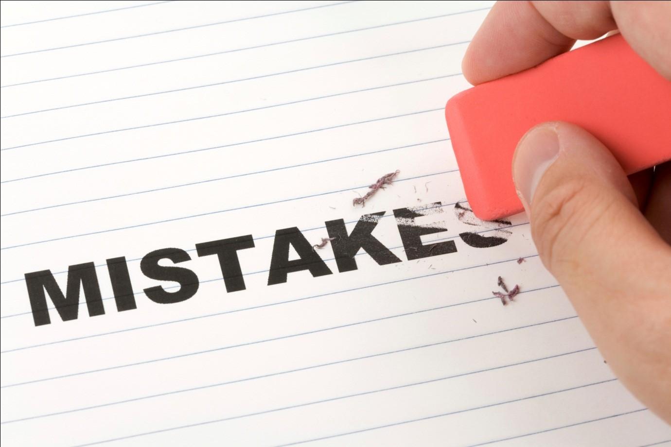 به اشتباهاتمون فکر کنیم