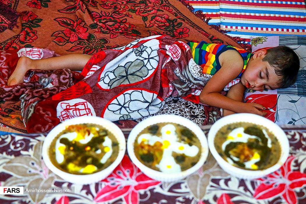 جشنواره آش پزی در زنجان