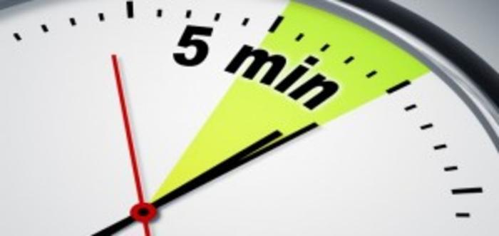 قانون ۵ دقیقه: تکنیکی برای رفع اهمالکاری