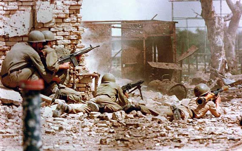 ۳۱ سال جنگ در خرمشهر