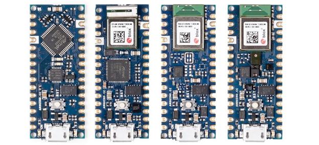معرفی بردهای جدید Arduino Nano