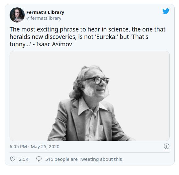 المان embed یک توییت از Fermat's Library