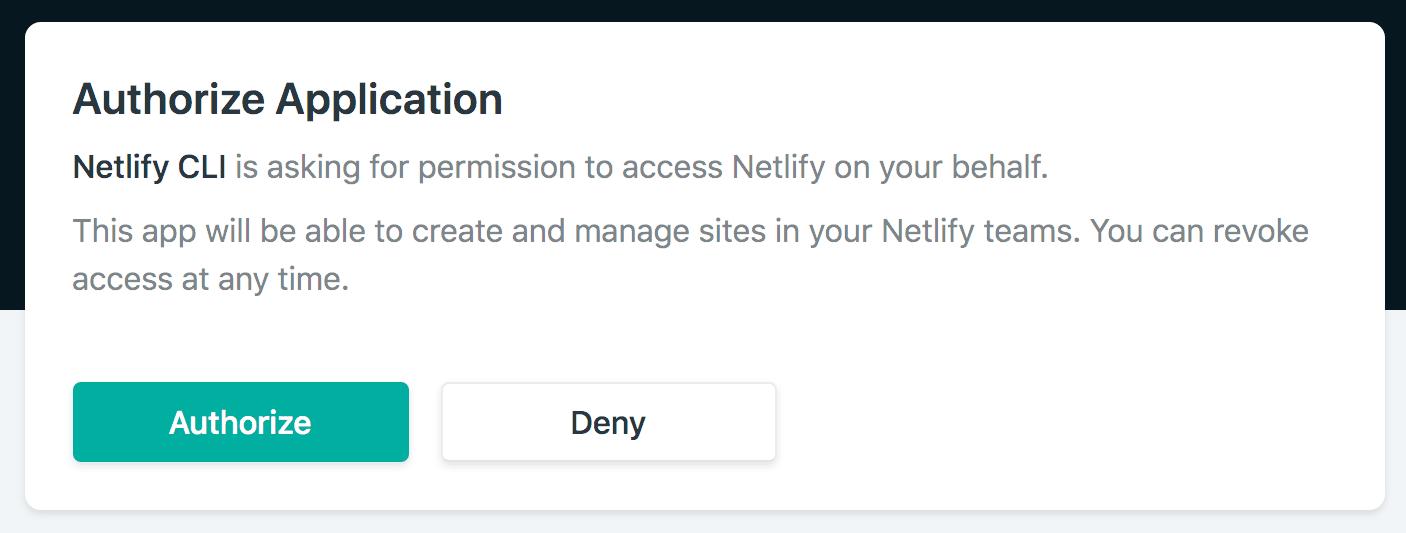 احراز هویت در netlify