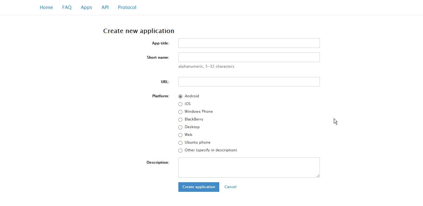 صفحه API development tools