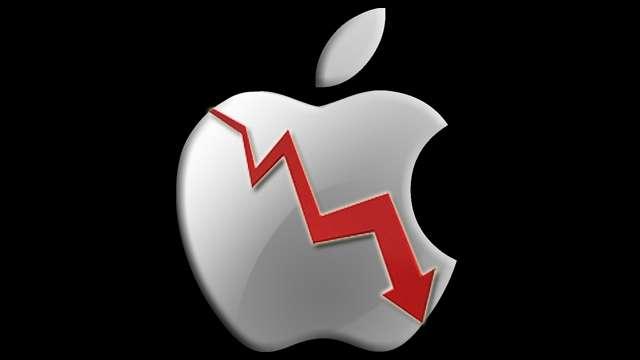 سقوط اپل تریلیون دلاری!