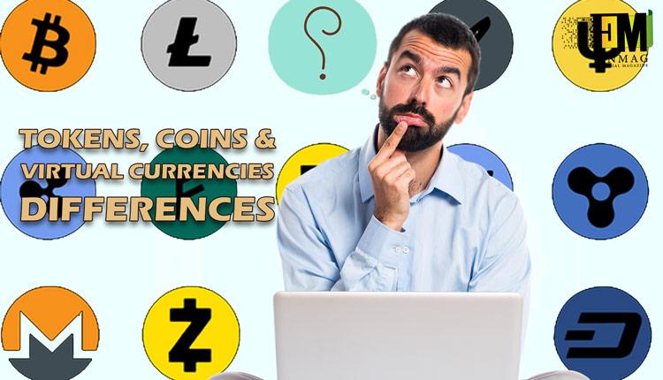 چه تفاوتهايي ميان توكن ، كوين و ارز مجازي وجود دارد؟