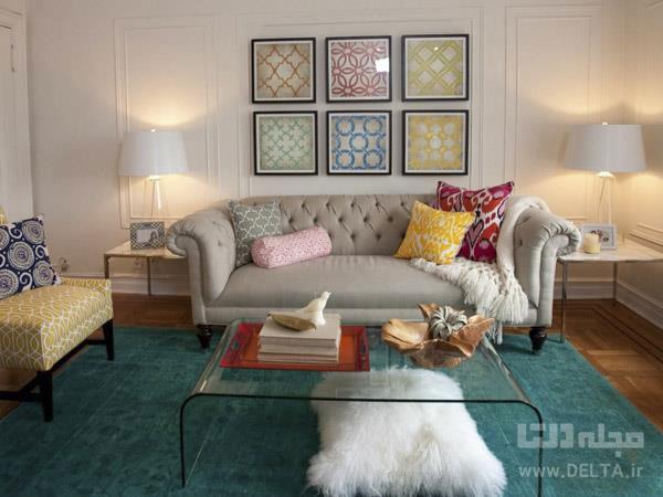 دیزاین میز جلوی مبل ؛ایدههایی ساده برای دکوراسیون منزل