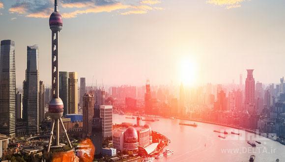 برج مروارید شرقی ؛ معماری مدرن شانگهای چین