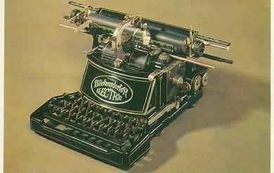 اولین ماشین تحریر الکتریکی