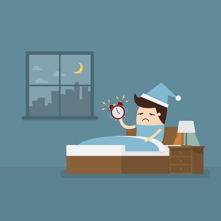 چند نکته برای درمان بی خوابی در شب