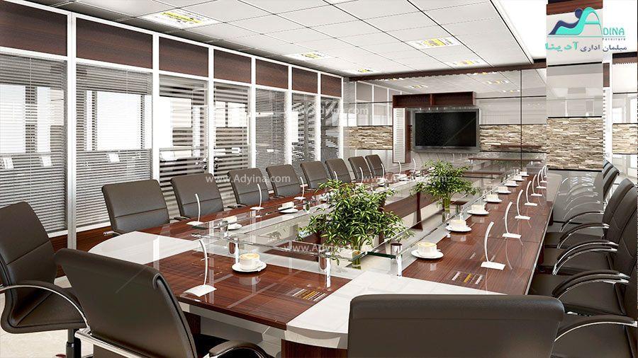 میز کنفرانس ام دی اف (MDF)