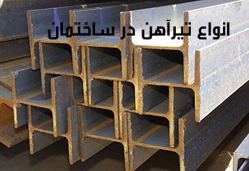 انواع تیرآهن در ساختمان