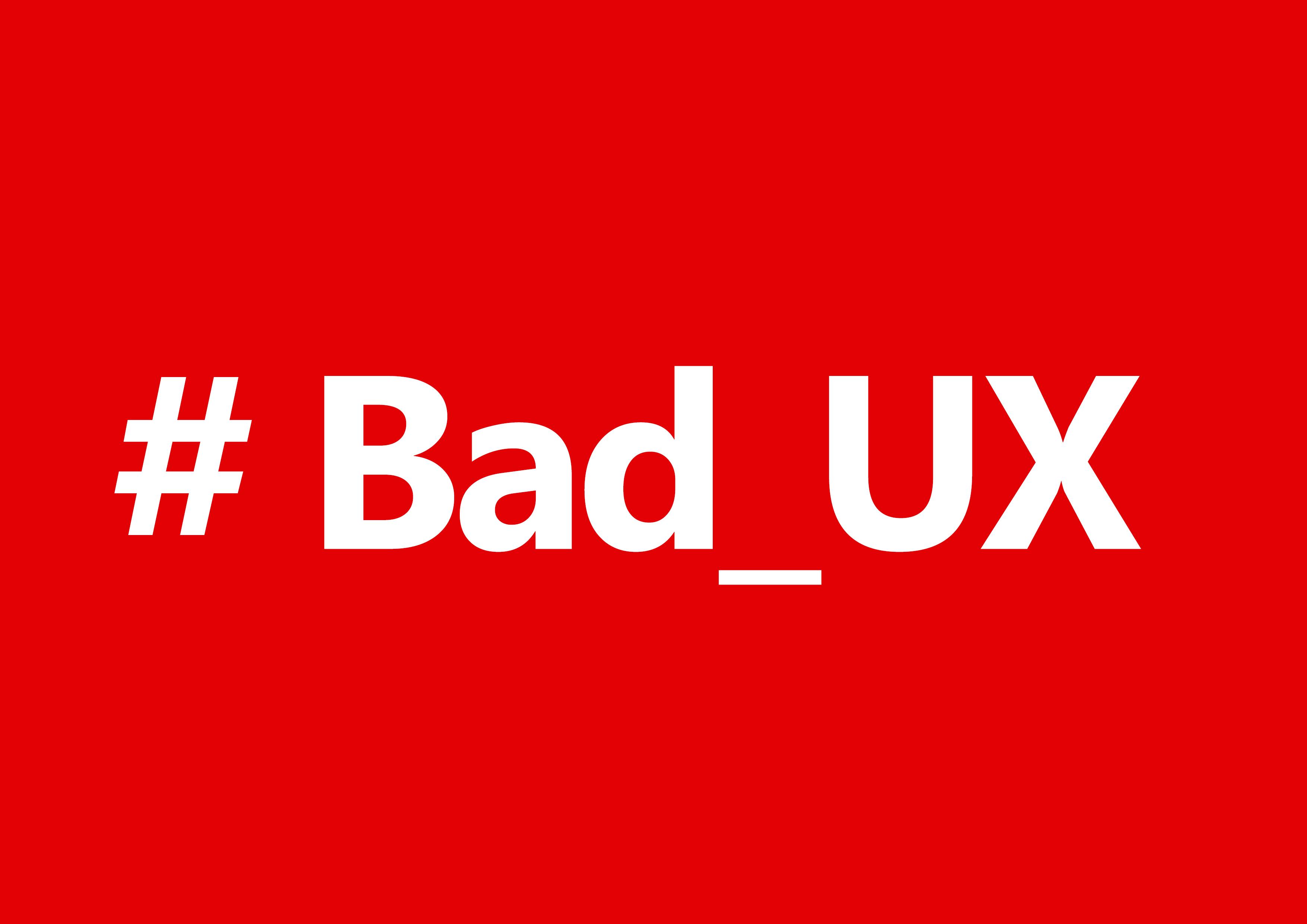 تجربه کاربری بد(2)