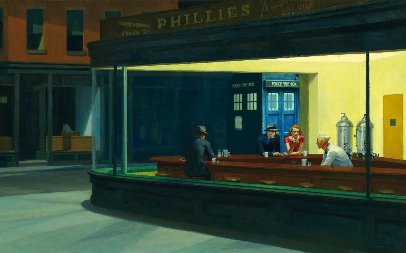 در وصف نقاشی شب زندهداران؛ فقط همین چهار نفر