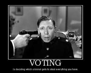 دموكراسی؟! شوخی میکنید!