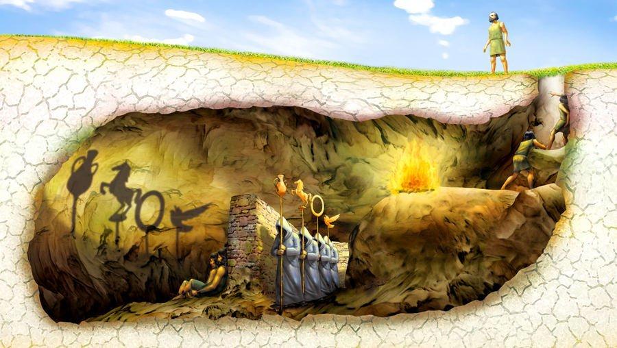 ماتریکس؛ تمثیل غار افلاتون