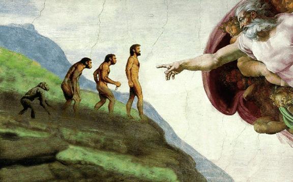 ما؛ فرشتگانی هبوط کرده یا میموننماهایی فرگشتیافته؟