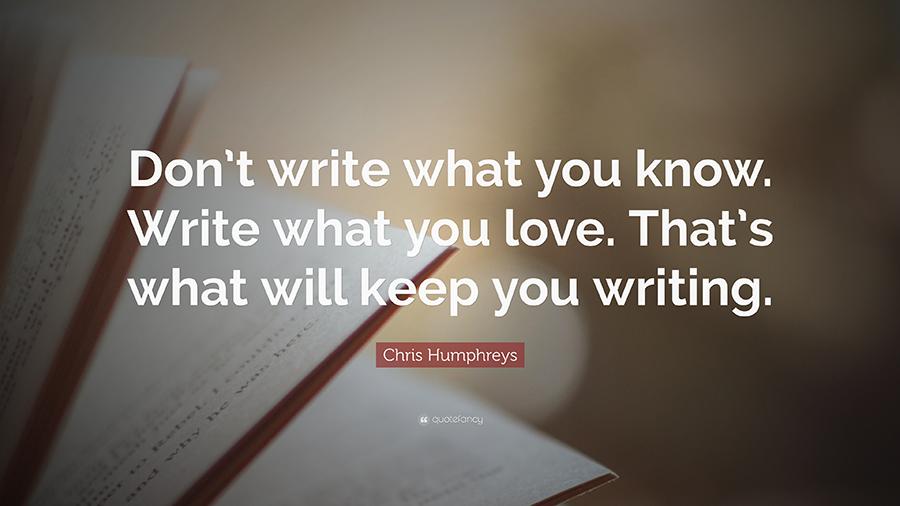 وبلاگنویسی اجباری نیست، باید با عشق نوشت!